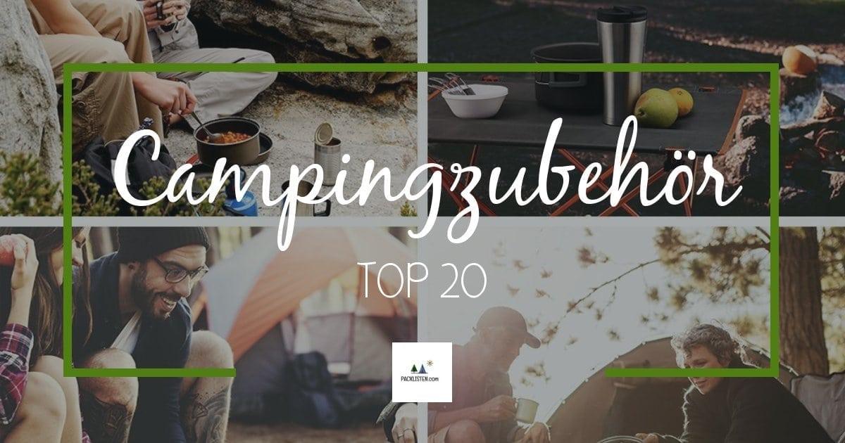 Campingzubehör packlisten.com
