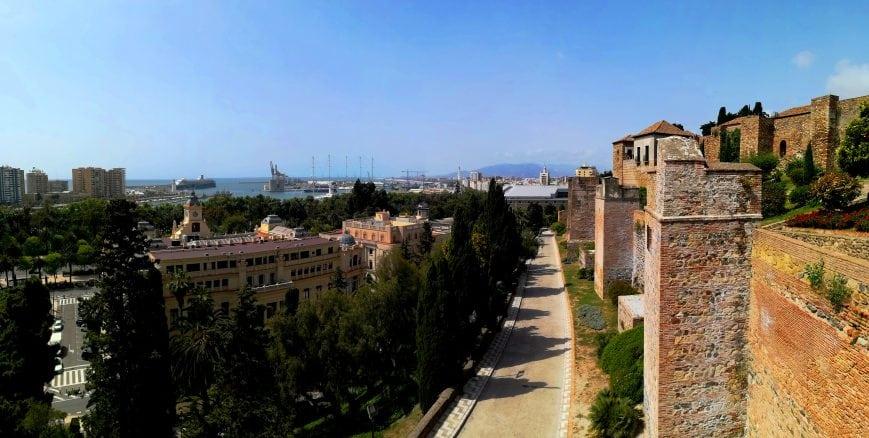 Alcazaba Malaga Andalusien