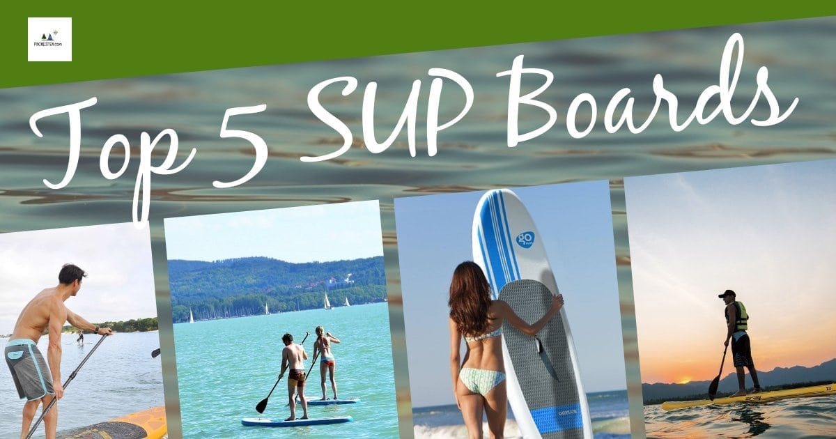 Top5 SUP Boards packlisten