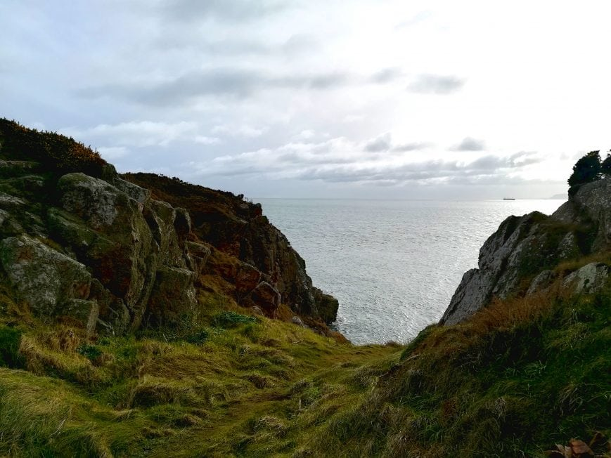 Howth Klippen Spaziergang Irland