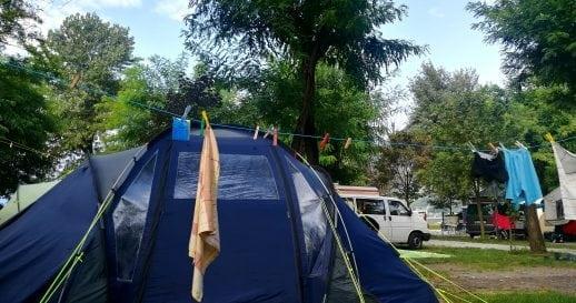 Camping Checkliste als PDF bei Packlisten.com