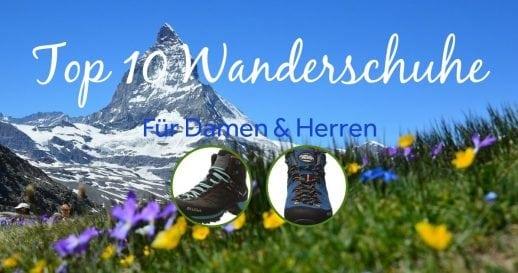 Top 10 Wanderschuhe Packlisten