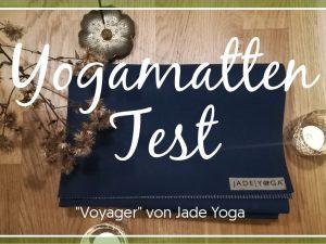 Voyager Jade Yogamatte Test Packlisten